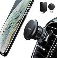 VANMASS Car Phone Holder Magnetic with 6 Strong Magnet,Air Vent 360° Rotation