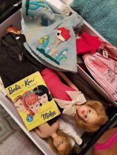 Fashionista Barbie Case Filled with 1960's Barbie clothes, Ken, Alan, Skipper