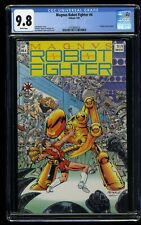 Magnus Robot Fighter (1991) #4 CGC NM/M 9.8 White Pages