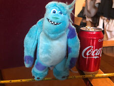 Sully Blue Monsters Inc Disney Pixar Plush Soft Toy Official Cute