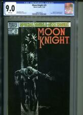 MOON KNIGHT #25 CGC 9.0 White Pages 1st Appearance Black Spectre