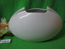 Vase 40 cm Asimmetria  weiß von Rosenthal