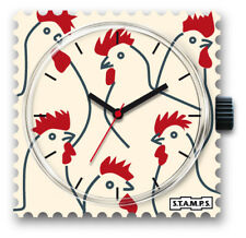 S.T.A.M.P.S. Uhr- Looking For Chicken  ,Stamps