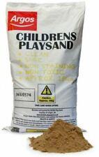 Children's Play Sand 15kg Bag Set Garden Pit Beach Children Outdoor Fun Kids Toy
