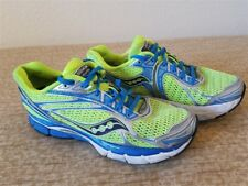 SAUCONY Triumph 9 Womens Green Blue Size 8.5 Running Shoes - 10137-4 -