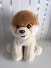 "GUND BOO World's Cutest Dog 4029715 Toy Pomeranian 9"" Plush Stuffed Puppy Animal"
