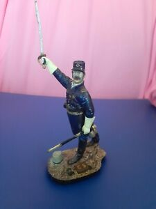 Soldier,Civil war,Union officer,1863 .1/16.Resin.(solid)