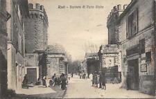 2763) REITI BARRIERA DI PORTA CLELIA AFFOLLATA. VIAGGIATA NEL 1925.