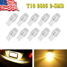 10x Yellow T10 Wedge High Power LED Bulb Interior Dome Map Light W5W 192 194 168