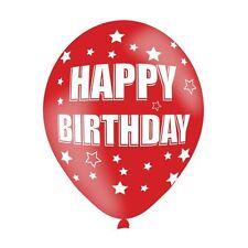 6 paquets couleurs assorties latex joyeux anniversaire Ballon célébration