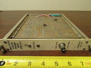 Fiber Optic Analog Preamp Transmitter 29W4143 NIMBIN CAMAC