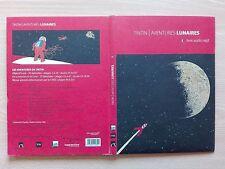 "TINTIN - ""AVENTURES LUNAIRES''. BOOK/CD AUDIO MP3."