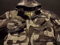 Grenade Mens Large Long Sleeve Multicolor Camo Camouflage Ski Snowboard Jacket