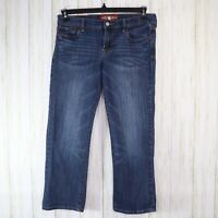 Lucky Brand Blue Sweet n Crop Jeans Womens 6 / 28 Stretch Denim Cropped