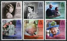 More details for ascension island royalty stamps 2021 mnh queen elizabeth ii 95th birthday 6v set