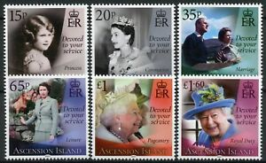 Ascension Island Royalty Stamps 2021 MNH Queen Elizabeth II 95th Birthday 6v Set