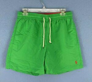 Polo Ralph Lauren Mens Board Shorts Golf Green Size Medium -