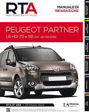 Manuale di riparazione auto meccanica+elettronica+carrozzeria / Peugeot Partner