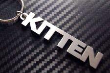 KITTEN Kitty Cat Pussy Cute Personalised Nick Name Keyring Keychain Key Bespoke