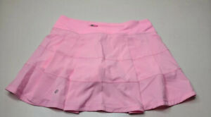 """Lululemon Pace Rival Skirt Miami Pink 15"""" RARE Size 6 Tall"""