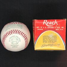 1970-72 Reach Cronin Official American League Baseball OAL Ball w/ BOX!!