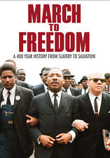 """""""March to Freedom"""" DVD 14-Part, 11 Hour African-American History Chronicle, rare"""