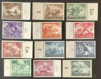 Germany. German Reich. Armed Forces & Heroes. SG819/30. 1943. MNH. #AA285