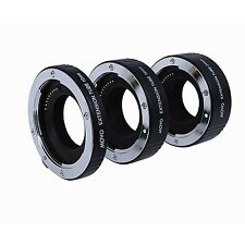 Movo Auto Focus Macro AF Extension Tubes for Canon EOS-M M2 M3 M10 Mirrorless Ca