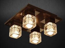 """ Iris "" 4dp-4d PLAFONNIER SUSPENSION BEAU LUMINAIRE LAMPE HAUT 4 à flammes"