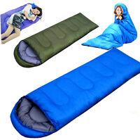 Outdoor Camping Hiking Sleeping Bag Pad Ultra-light Mummy Sleep Sack Camp Gear