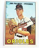 1967 Topps Jim Palmer Baltimore Orioles #475 Baseball Card excellent card