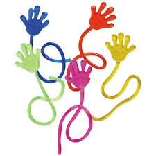 10PC KIDS PARTY SUPPLY BIRTHDAY MINI STICKY JELLY SLAP SQUISHY HAND TOY GIFT
