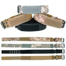 Adjustable Nylon Military Tactical Dog Collar MOLLE Training K9 German Shepherd