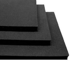 Adhesive Backed Black Neoprene Foam Sponge Rubber 2mm 12mm Thick