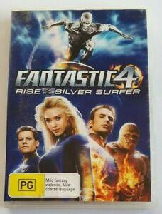 Fantastic Four: Rise of the Silver Surfer Jessica Alba PAL DVD R4 VGC