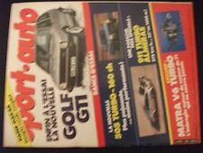 **j Sport Auto n°265 Poster Porsche 911 4x4 de René Metge / Lemoyne