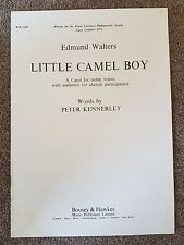 Sheet Music for LITTLE CAMEL BOY, a carol for treble voices