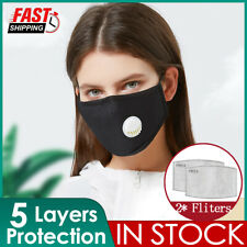 Cotton Mask Activated Face Cover Washable Reusable Activated Carbon respirator