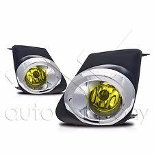 2011-2013 Toyota Corolla Fog Lamps w/Wiring Kit & Wiring Instructions - Yellow