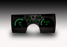 Intellitronix Digital Gauge Instrument Dash Panel Camaro 1991-1992 in Green LEDs