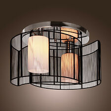 Modern Black Vintage Ceiling Lamp Chandelier Lighting Fixture Pendant Light New