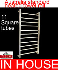 Heated Towel rail - 11sqaure tubes-1150HX600WX115Dmm