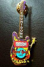 HRC hard rock cafe Tokyo Countdown to 2002 Slot Machine Guitar le300