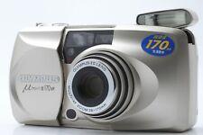 【NEAR MINT】 Olympus mju II 170 VF 35mm Point & Shoot Film Camera From JAPAN #410
