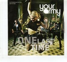 (HL487) Your Army, One Last Time - 2012 DJ CD