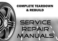 Ferrari 550 Maranello 2000 2001 2002 Service Body Repair Workshop Manual