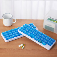 Pill Organizer 31 Days Pill Storage Box With Large Removable Pill Boxes Monthly