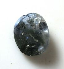 Badly faceted 2.04 ct Benitoite gemstone - California cut gem stone