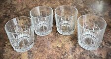 SET OF 4-ARCOROC, Made In France, LANCER pattern, Old Fashioned whiskey tumblers