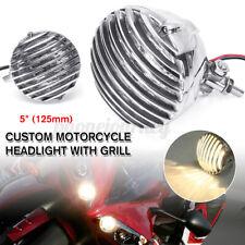 "5"" inch Universal Motorcycle Headlight for Chopper Bobber Cafe Racer"